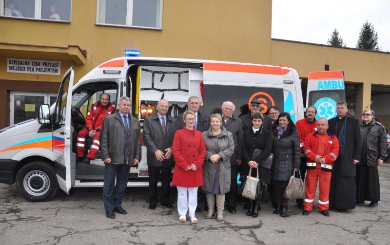 SP ZOZ w Przeworsku zakupił nowoczesny ambulans