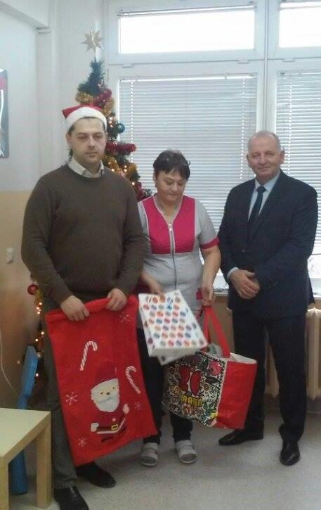 Święty Mikołaj w przeworskim szpitalu