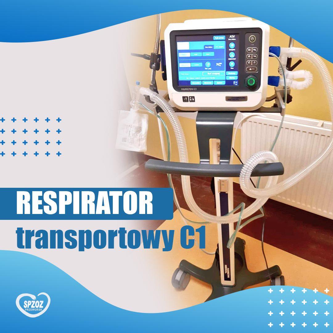 Zakup nowego respiratora
